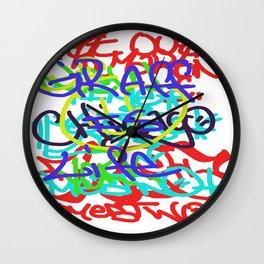 Graffiti Is Life Wall Clock