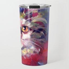Meow's New Muffler Travel Mug
