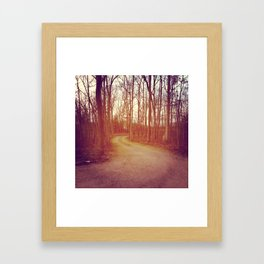 Where to... Framed Art Print