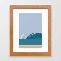 FORNØJELSE SURF Nr.03 Framed Art Print