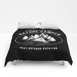 camping adventure nature camper Comforters