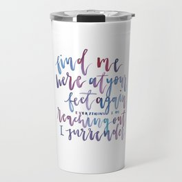 Touch The Sky Travel Mug