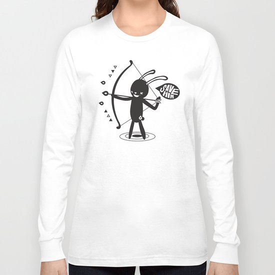 SORRY I MUST LIVE - DUEL 2 VER B ULTIMATE WEAPON ARROW  Long Sleeve T-shirt