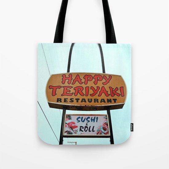 Happy Teriyaki Tote Bag