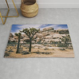 Joshua Tree National Park Scene Rug