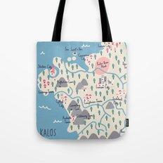Kalos Map Tote Bag