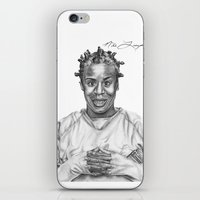 oitnb iPhone & iPod Skins featuring Crazy Eyes from OITNB by nilelivingston