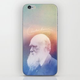 Heart Of Stone. Darwin. 1809-1882. iPhone Skin