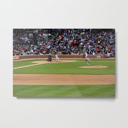 chicago cubs // wrigley field Metal Print