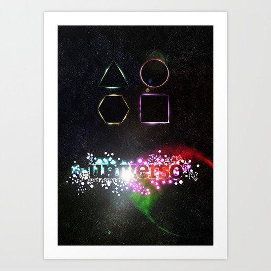Universo Art Print
