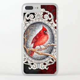 Valentine's day con amore Clear iPhone Case