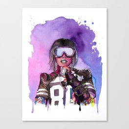 WTF Missy Elliott Canvas Print