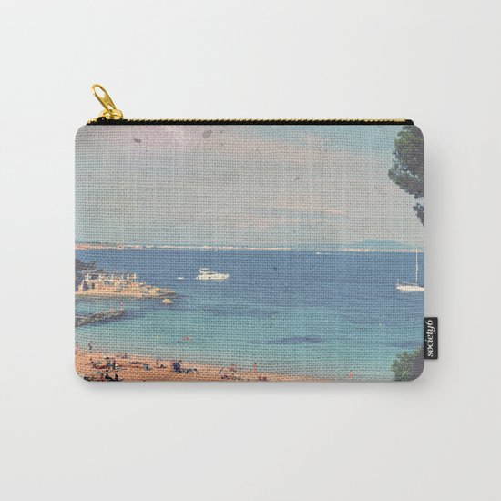 A Private Mallorcan Beach For All Of Us Carry-All Pouch