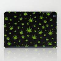 weed iPad Cases featuring Weed Weed Weed by Spyck