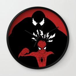 Spiderman (Amazing) vs Venom Wall Clock