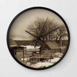 Cowboys Mess Hall Wall Clock