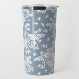 Papercut Bees Travel Mug