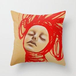 Buckets Throw Pillow