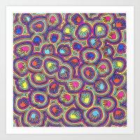 Bright Hands Art Print