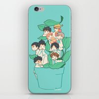 haikyuu iPhone & iPod Skins featuring Haikyuu!! Aobajousai Team by Kim Quim