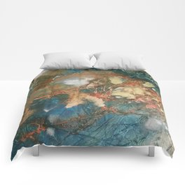 Copper Splash Comforters