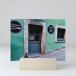 Old German Bakery Mini Art Print