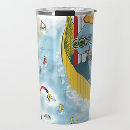 Look, honey!...the humans are migrating again!!! Travel Mug