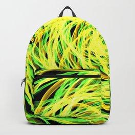 GFTNeon004 , Neon Abstract Backpack