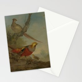 Aert Schouman - Pheasants Stationery Cards