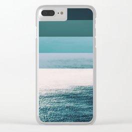 Colorscape VI Clear iPhone Case