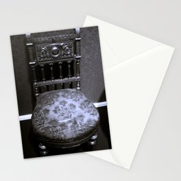 Ornate Victorian Chair from the 1860s Stationery Cards