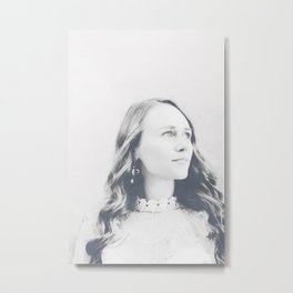 Young woman 7 Metal Print