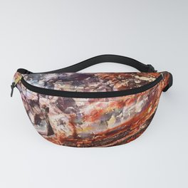 Crystal Wood Fanny Pack