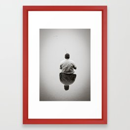 Mr. Fisherman  Framed Art Print