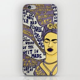 Smash the Patriarchy iPhone Skin