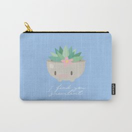 Succulent Carry-All Pouch