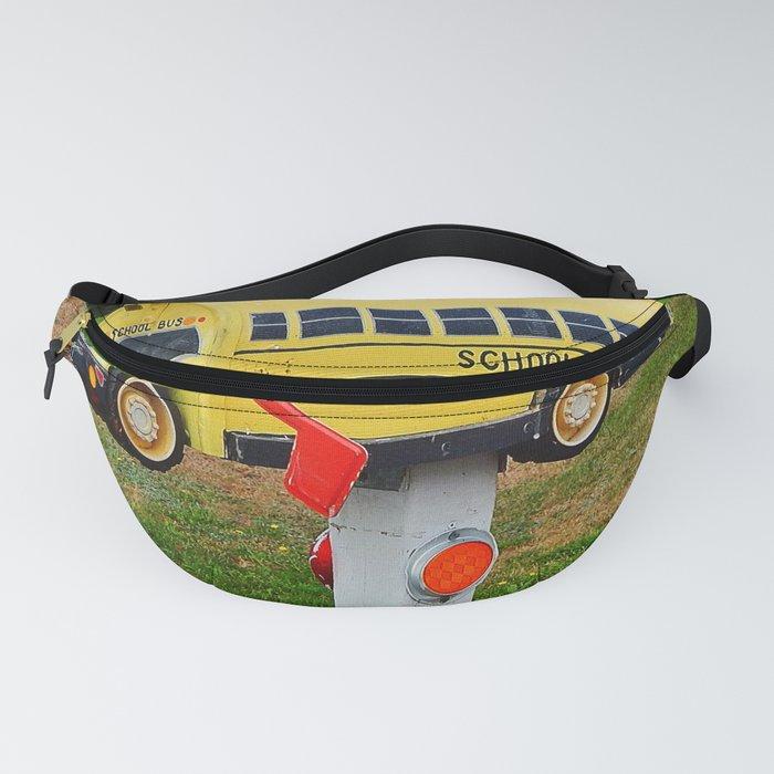 School Bus Mailbox Fanny Pack