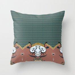 ss16 /// Handmade Arabesque II Throw Pillow