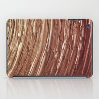 tree rings iPad Cases featuring Rings by Kathy Dewar