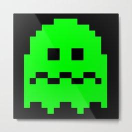 Pixel ghosts Metal Print
