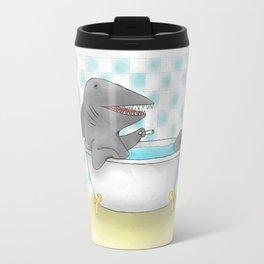 Shark bath Travel Mug