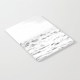 WHITE - SEA - WAVES - WATER - WHALE - NATURE - ANIMAL - PHOTOGRAPHY Notebook