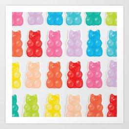 Gummy Bears Kunstdrucke
