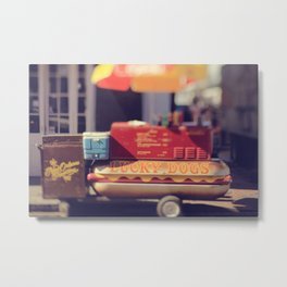 New Orleans Lucky Dogs Metal Print
