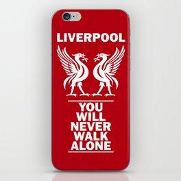 Slogan Liverpool iPhone Skin