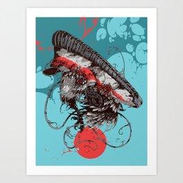 Boost 350 V2 Art Print