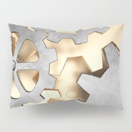 Abstract with the gears Pillow Sham