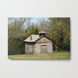 Prairie Grove Battlefield - The Latta Homestead, Established in 1834, No. 5 of 5 Metal Print