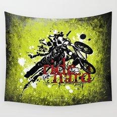 ride hard - BMX Wall Tapestry