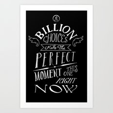 Perfect Moment Art Print